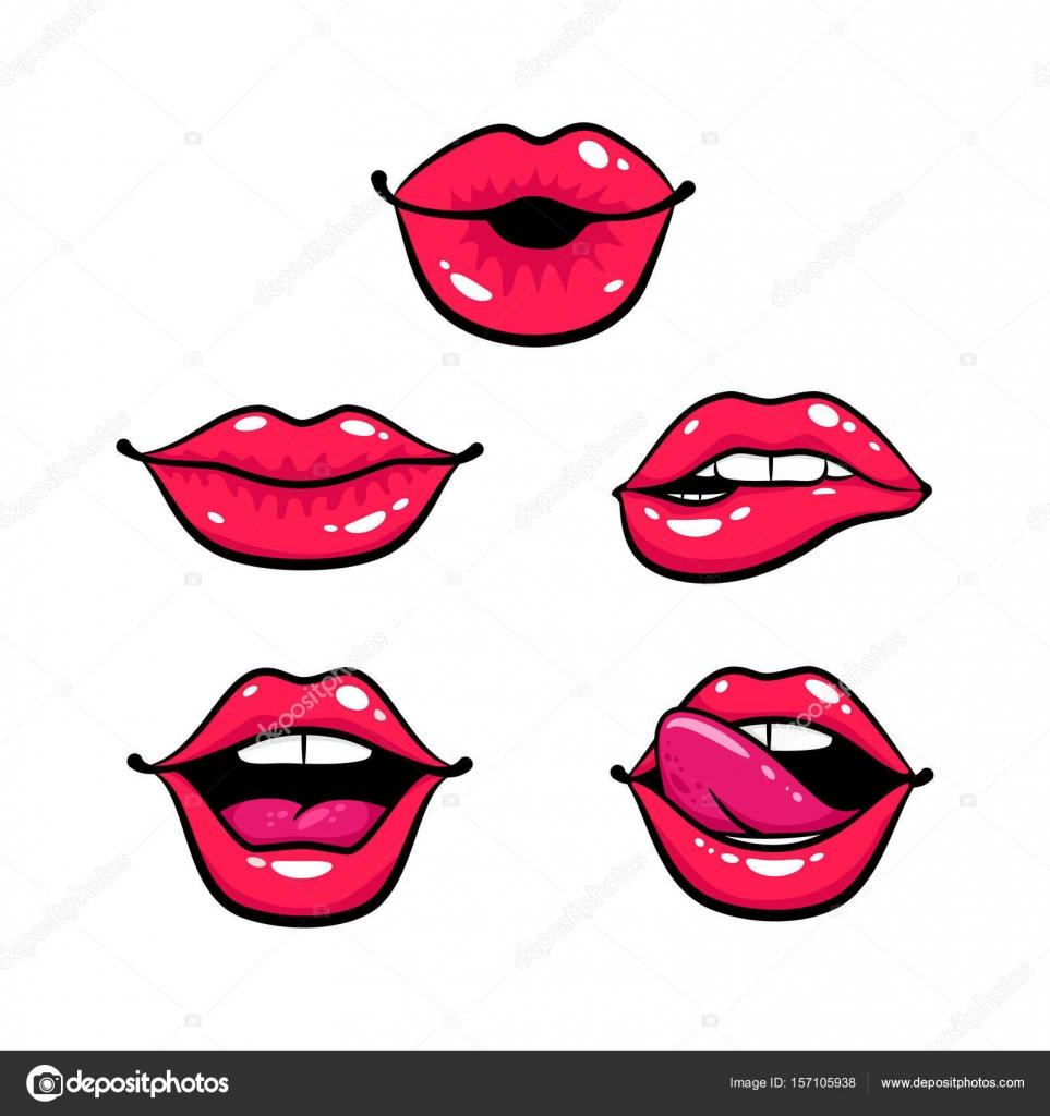 Картинка губы зубы язык