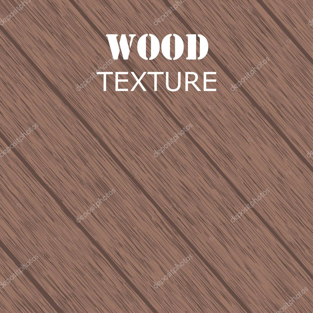 Vector abstract wood texture. vector background.