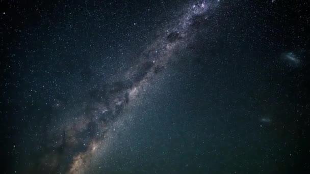 Una Vista Del Cielo Notturno In Nuova Zelanda Nel Cielo Notturno