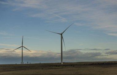 Wind power plant near Komari vizka hill