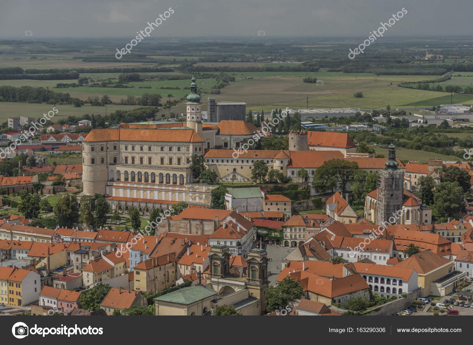 Mikulov town in south Moravia region — Stock Photo © Laborec425 ...