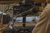 Interiér nahrávacím studiu ve městě Klatovy