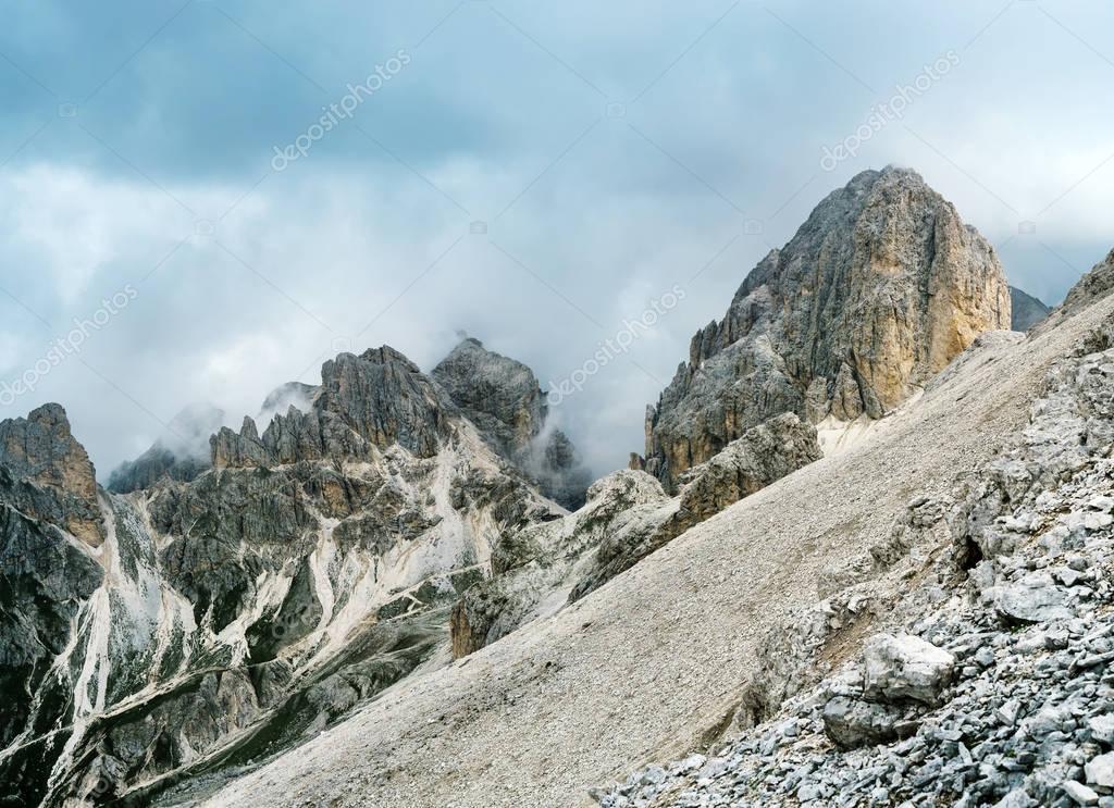 Catinaccio Antermoia mountain