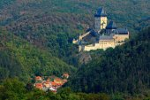 Gotický královský hrad Karlštejn