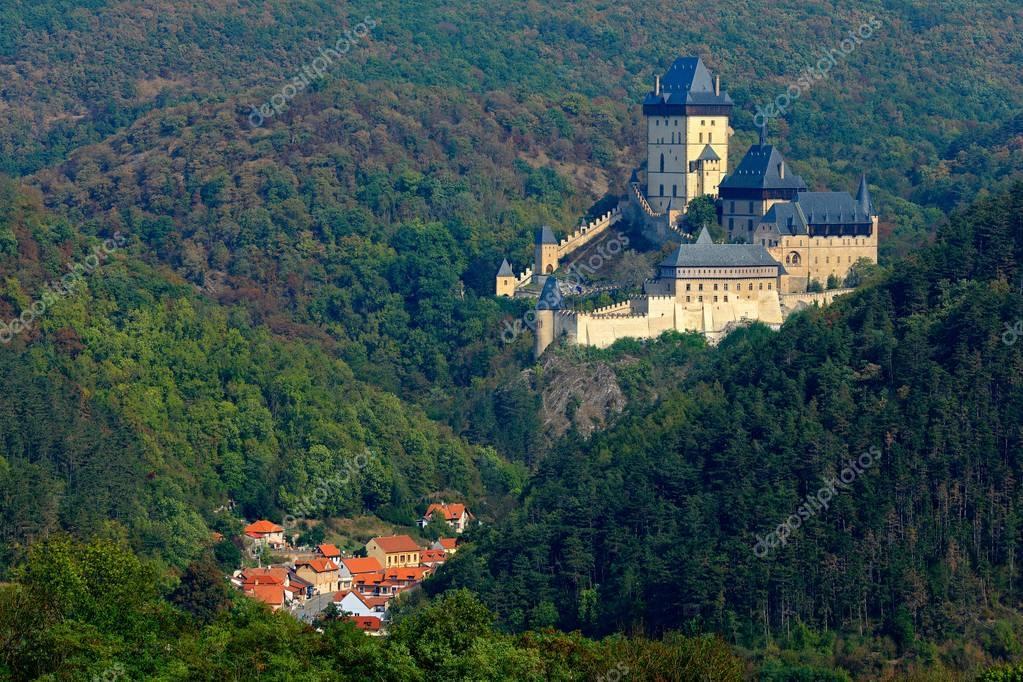Gothic royal castle Karlstejn