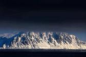 Fotografie White snowy mountain