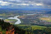 Fotografie Město Žilina z hory