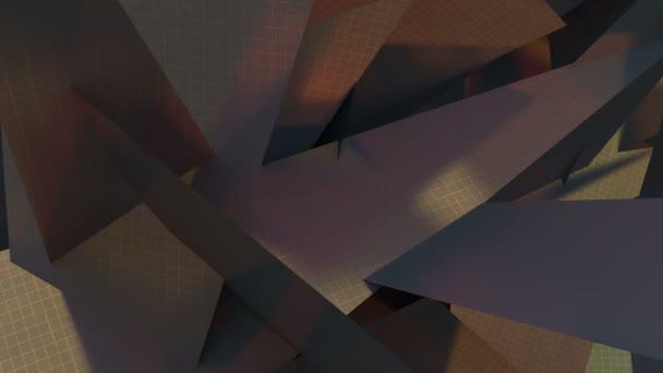 sfondo di triangoli grigi con una texture di mesh