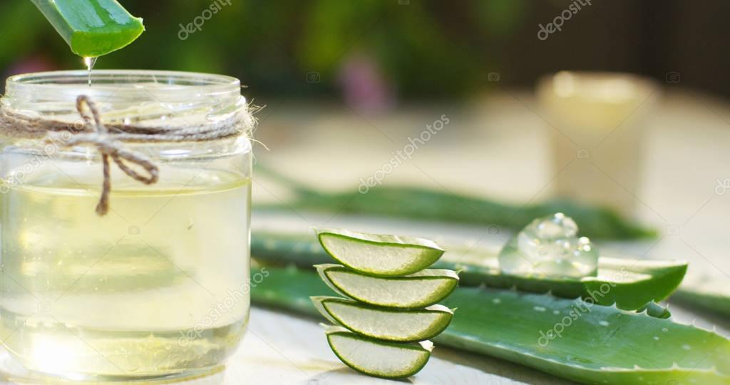 Composition of aloe vera