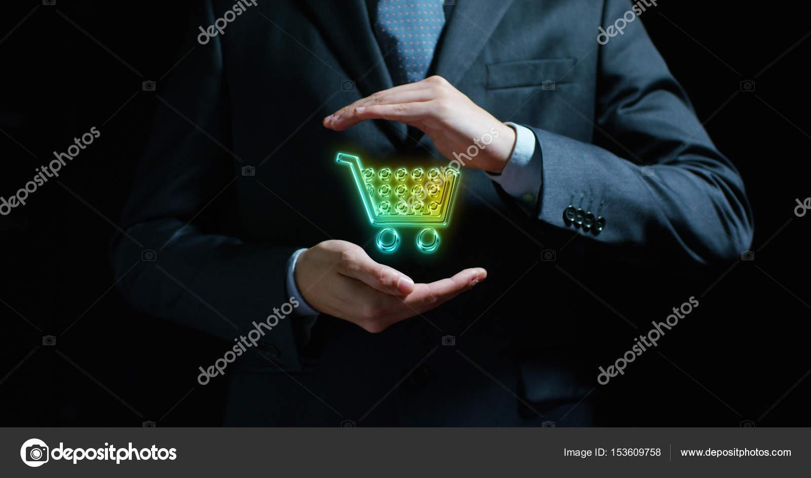 b12484b099fcdb Das Konzept: für die schnelle Lieferung bis zum Haus, online shopping,  schnell und bequem, Online-Shop — Foto von hquality