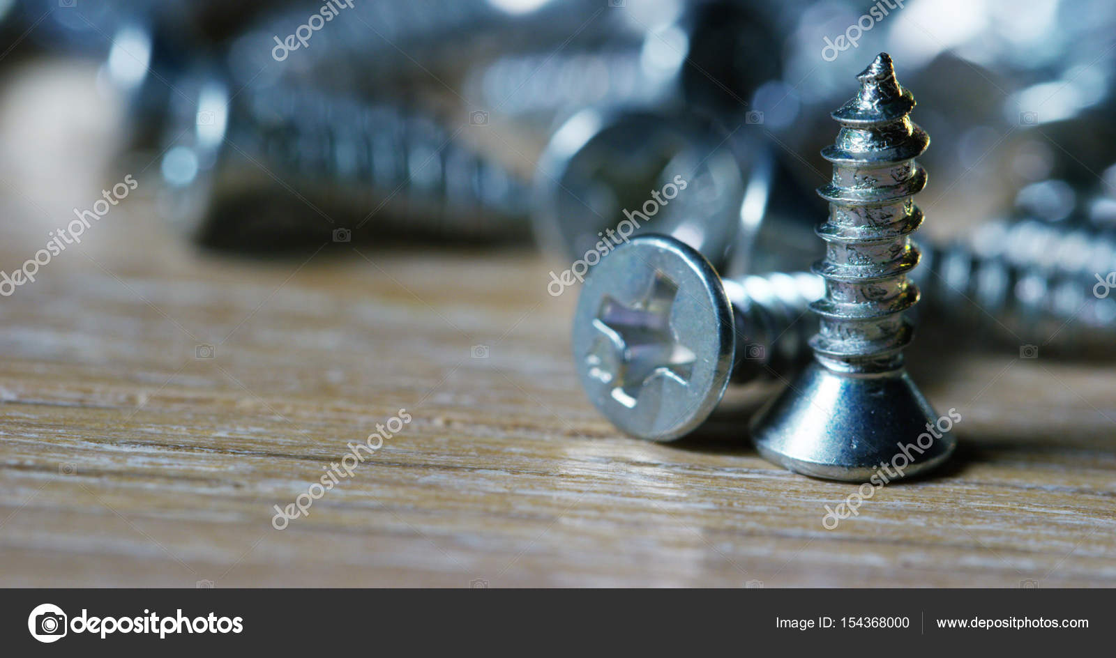 Miraculous Bolts And Screws On A Wooden Work Bench Concept Of Diy And Squirreltailoven Fun Painted Chair Ideas Images Squirreltailovenorg
