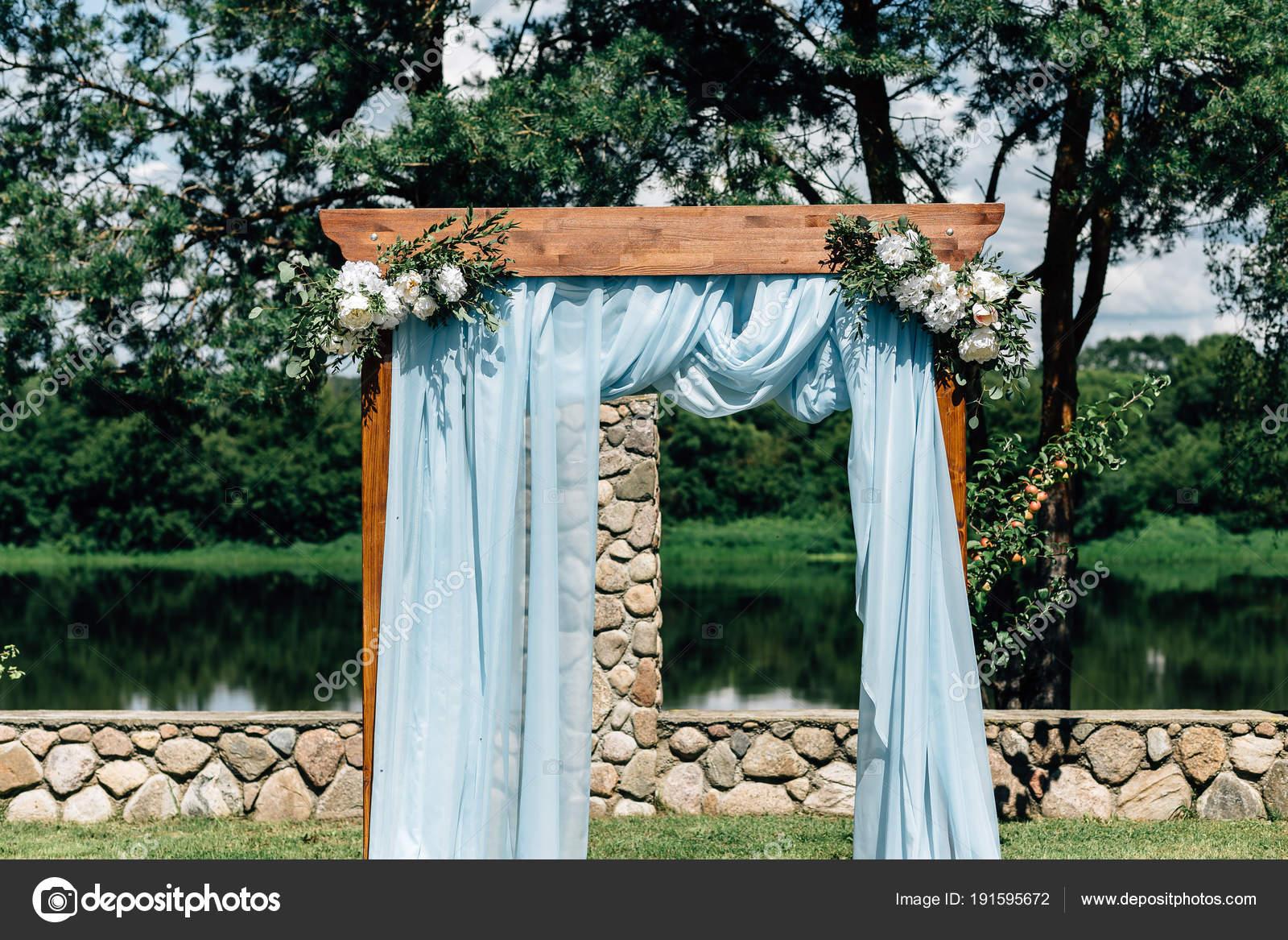 Outdoor Wedding Decorations Stock Photo Vikstrel 191595672