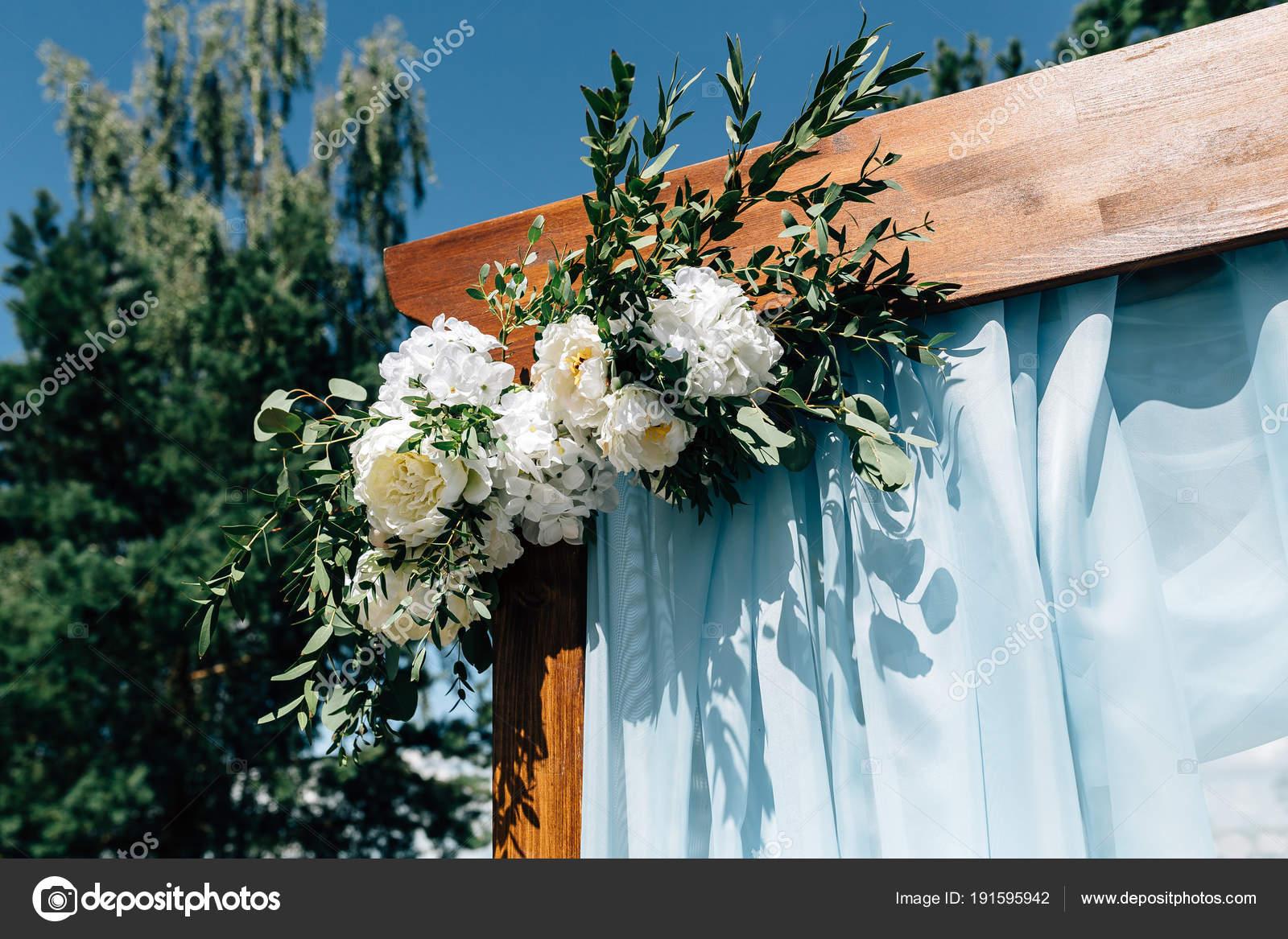 Outdoor Wedding Decorations Stock Photo Vikstrel 191595942