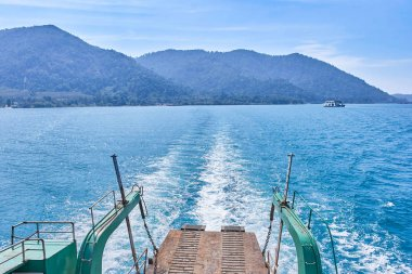 Ferry to Koh Chang Island in Trat, Thailand
