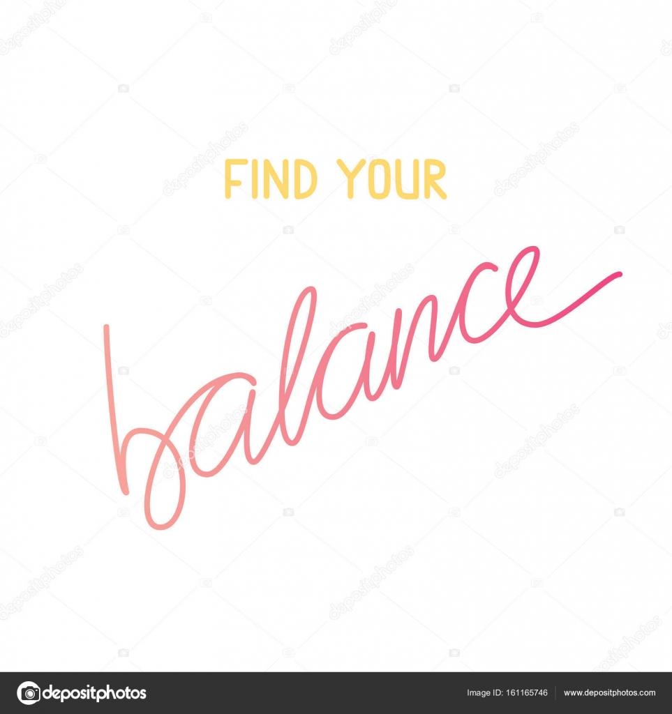 Citar Motivación Encuentra Su Equilibrio Frase De Yoga De
