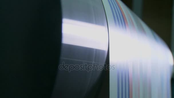 stampa stampa tipografia macchina in lavoro
