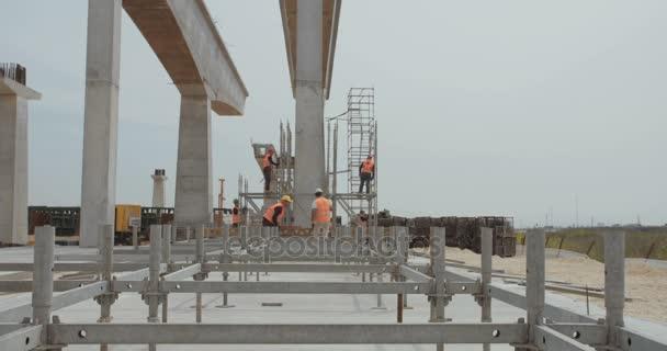 Velký most staveniště