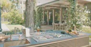 Granit Arbeitsplatte Outdoor Küche : Moderne luxus küche granit arbeitsplatten granit arbeitsplatte