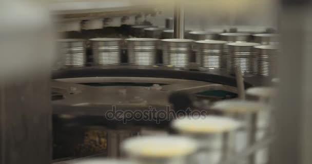 Konzervované potraviny automatizované výrobní linky