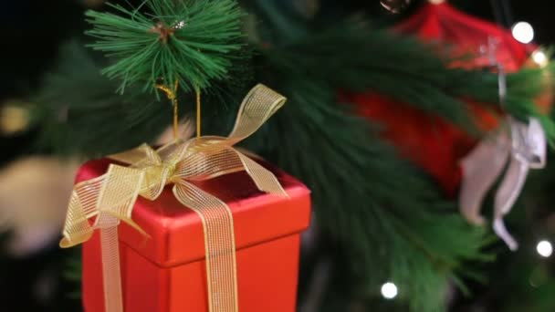 Multi-barevný vánoční hračky