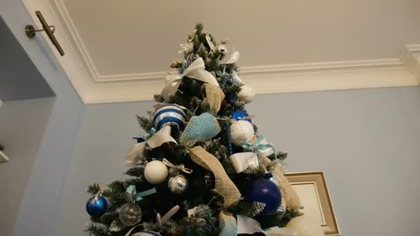 Christmas tree with balls and ornaments