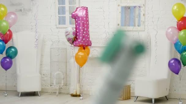 dětský svátek výzdoba s balónky