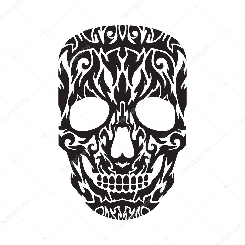 Fondos Para Tatuajes De Calaveras Tatuaje De Calavera En Negro