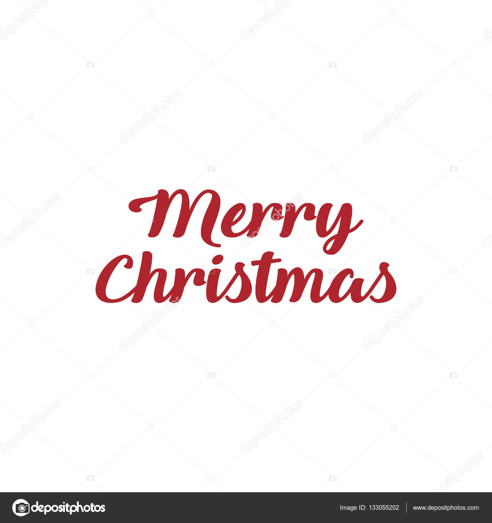 Frohe Weihnachten. Kalligraphische Schrift Design Karte Textvorlage ...