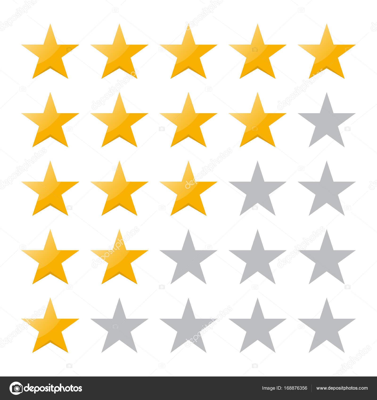Badge Website 5 rating vector illustration eps10 isolated badge for website