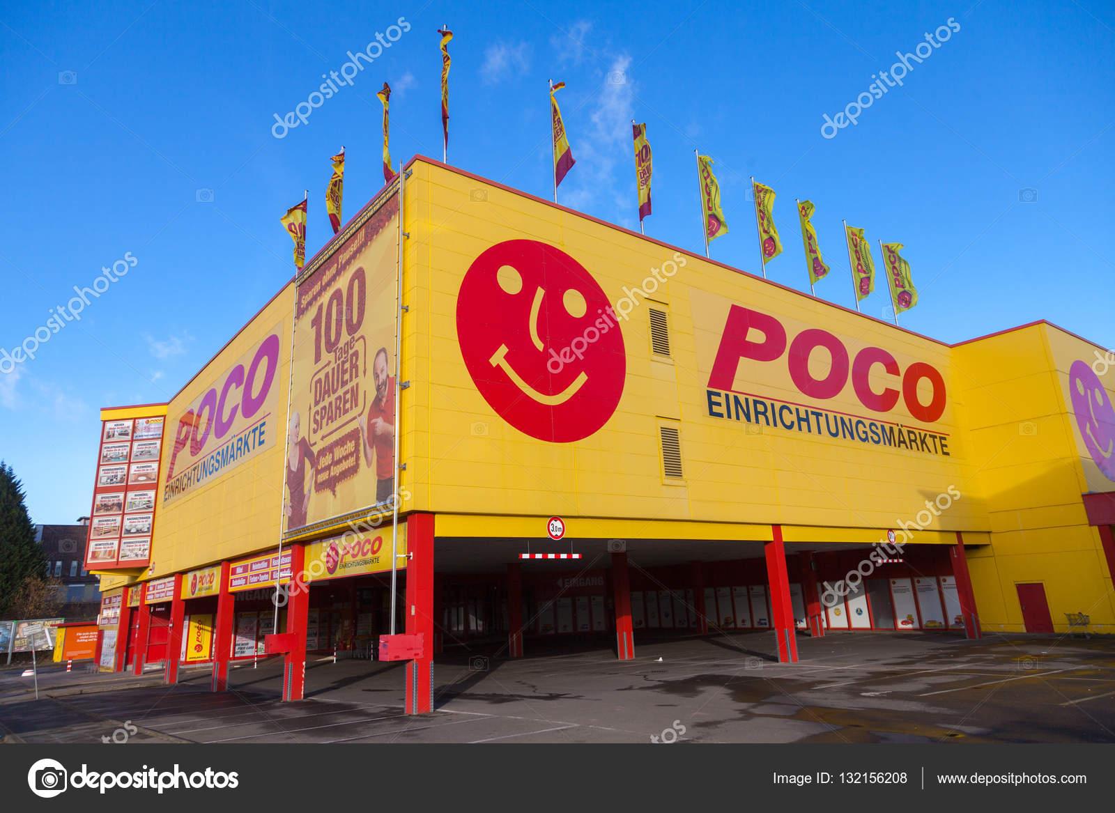 Deutsche Poco Möbelhäuser Einrichtungsmaerkte Marke Auf Einer Poco