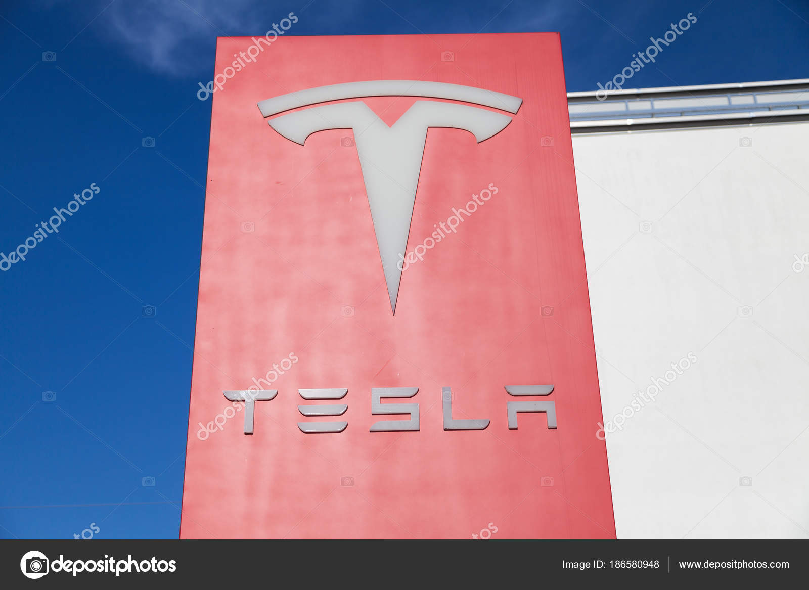 Fuerth germany march 2018 tesla logo car dealer tesla inc stock fuerth germany march 2018 tesla logo car dealer tesla inc stock photo buycottarizona Gallery