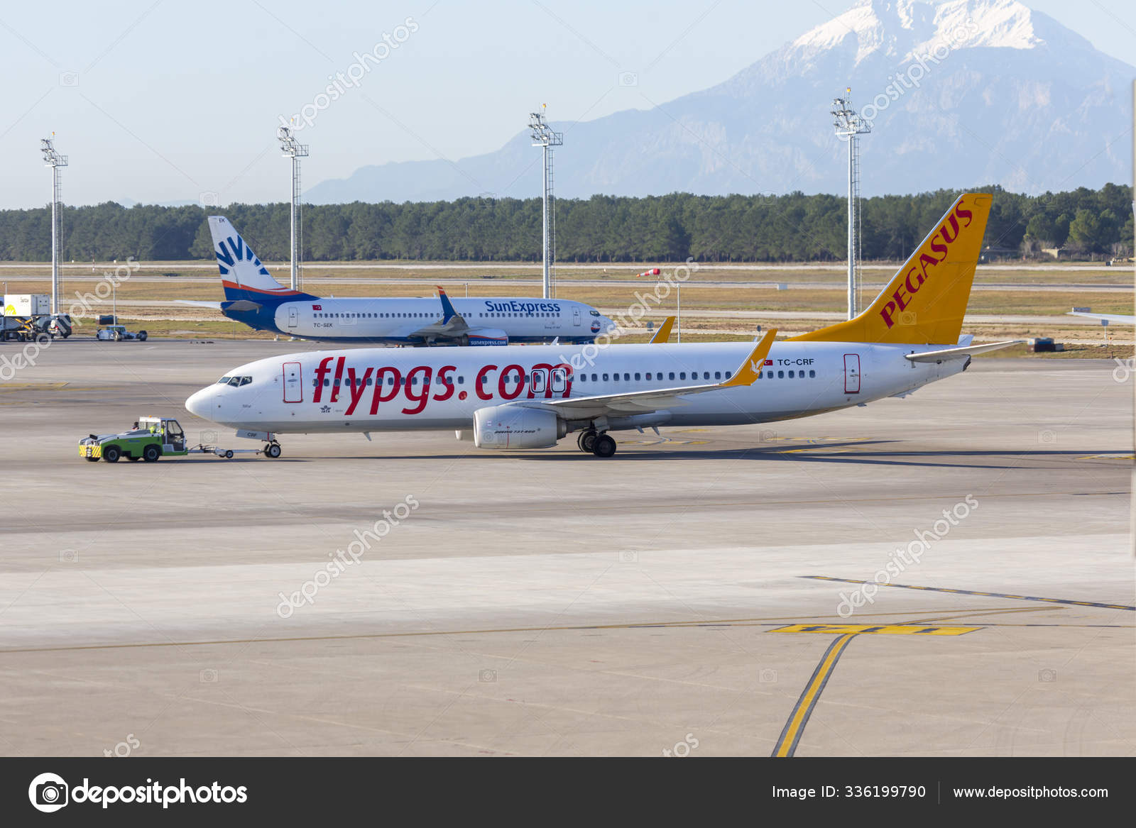 Обои ночь, Boeing 737, Самолёт, b737, tuifly, aircraft. Авиация foto 19