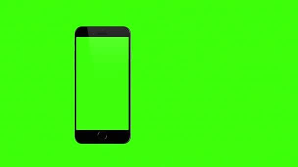 Smartphone se změní na zelené pozadí