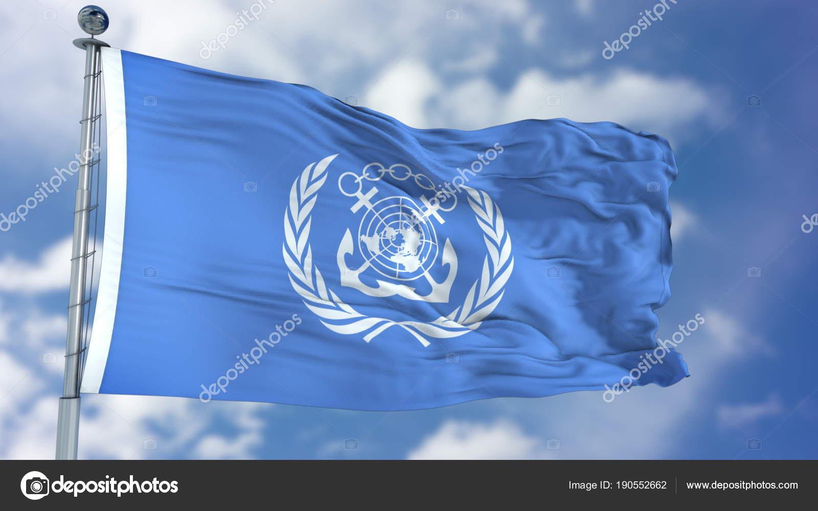 国際海事機関 Imo の旗を振って ...