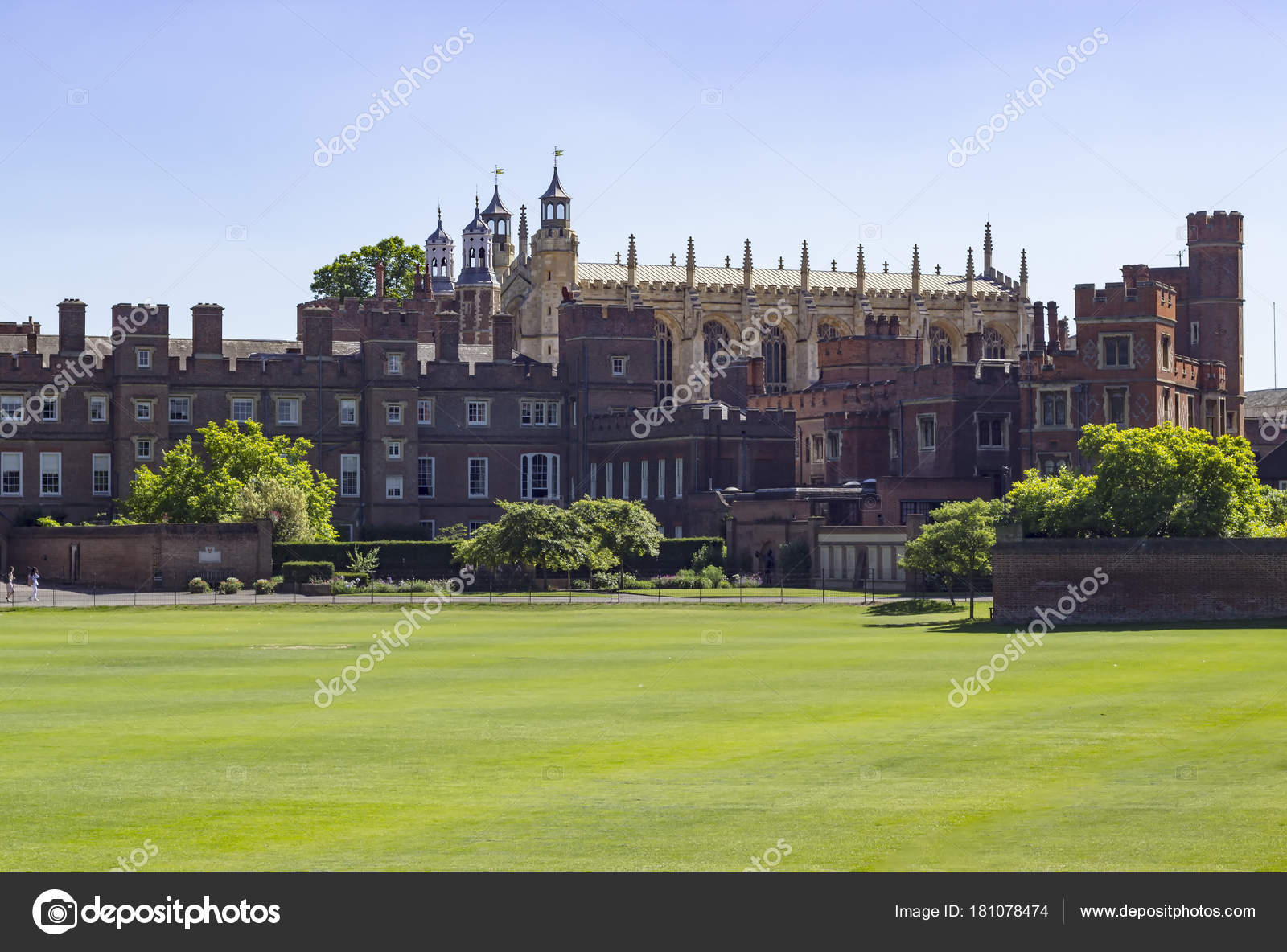eton college fields and building and chapel stock. Black Bedroom Furniture Sets. Home Design Ideas