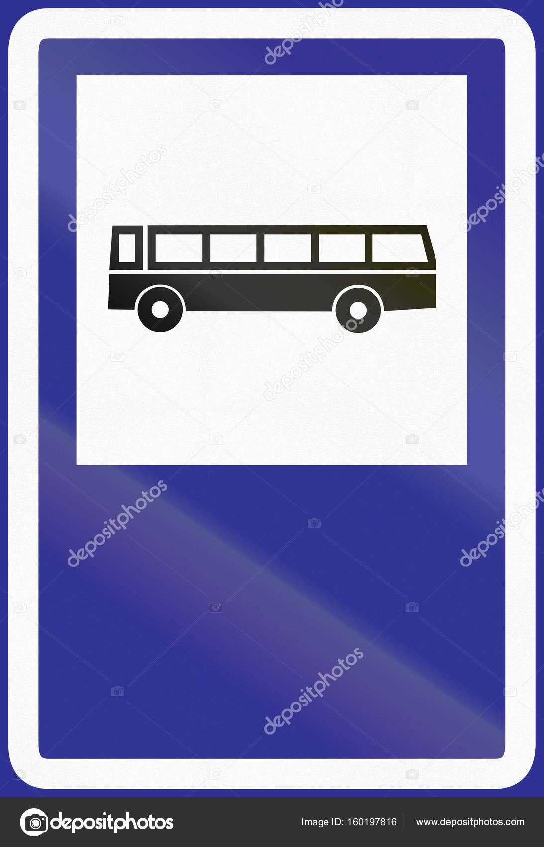 panneau de signalisation utilis en argentine arr t de bus photographie jojoo64 160197816. Black Bedroom Furniture Sets. Home Design Ideas