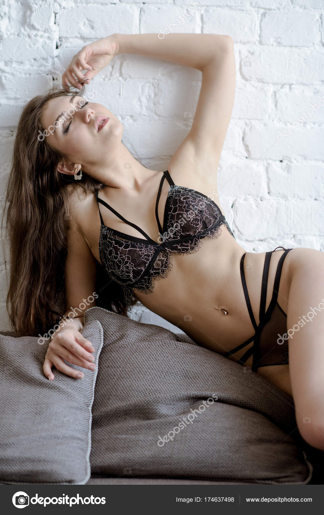 Γυμνό σέξι μαύρο κώλο