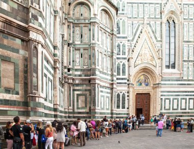 Florence, Tuscany, Italy - June, 06, 2016: Cattedrale di Santa M