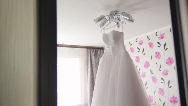 white wedding bridesmaid dress