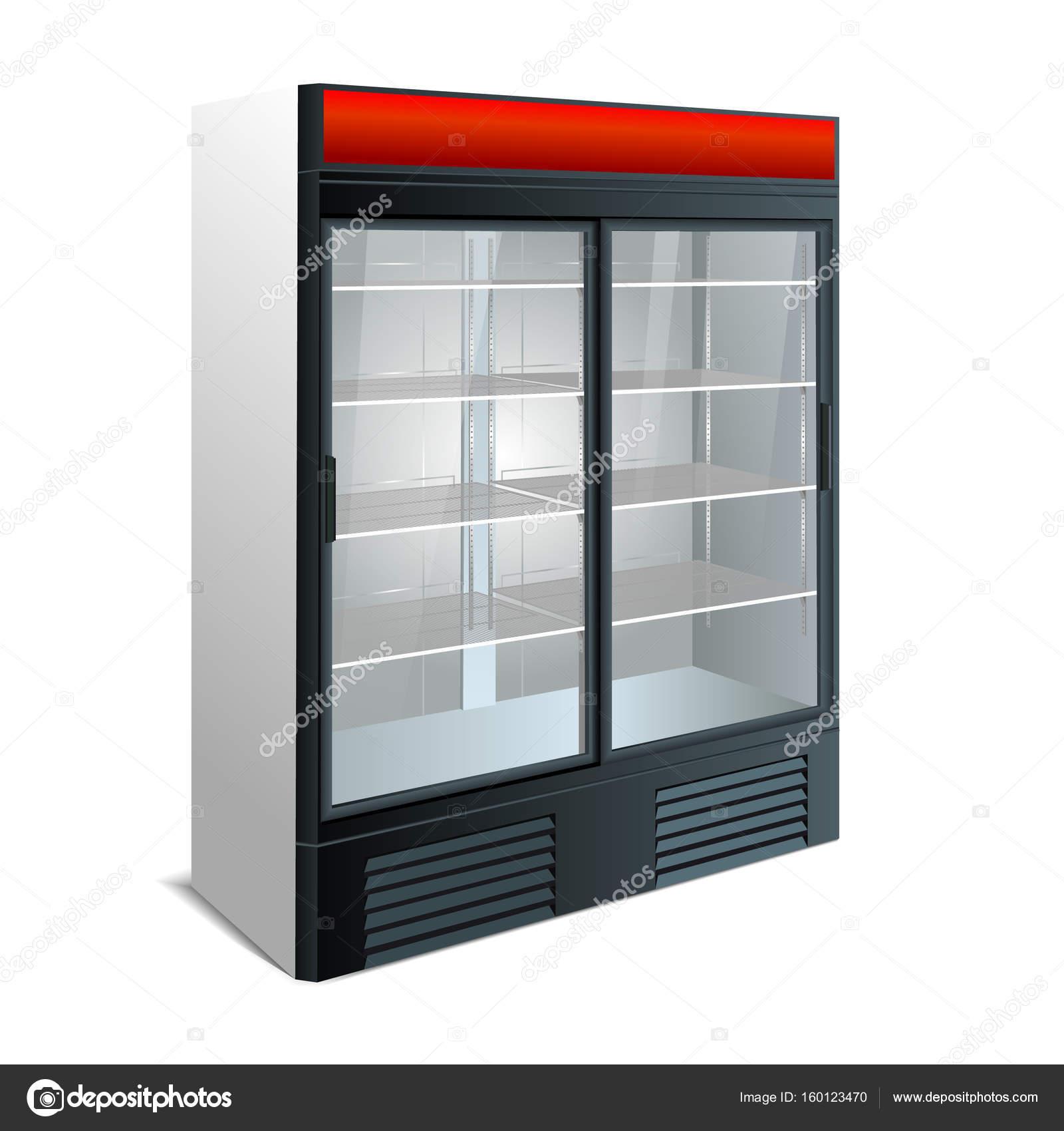 Erstaunlich Vitrine Küche Referenz Von Kühlschrank Küche — Stockfoto