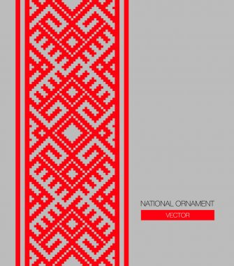 national ornament background