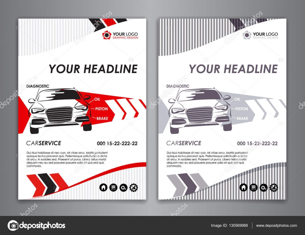 Set a5 a4 service car business card template auto repair brochure set a5 a4 service car business card template auto repair brochure templates identity flashek Gallery