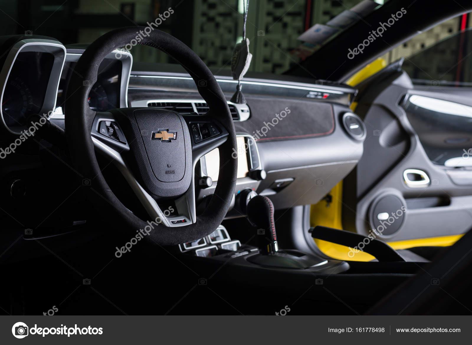 Interior Of Chevrolet Camaro ZL1 2015 Model U2014 Photo By Kunksy.gmail.com