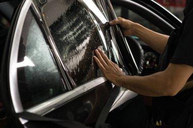 Car window tinting series: Installing car window tint
