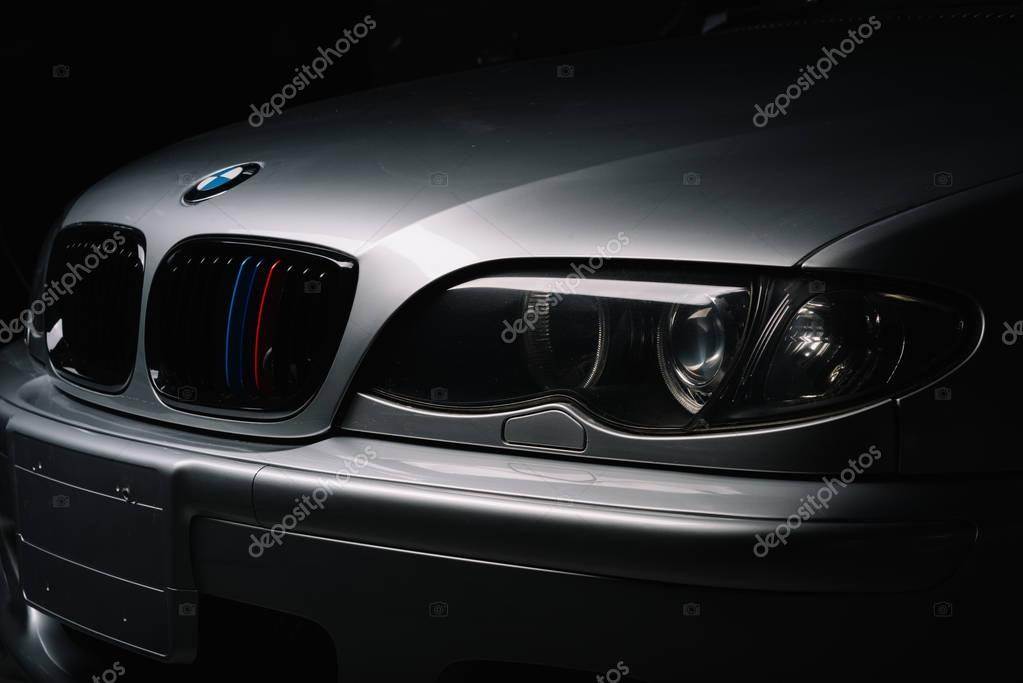 BANGKOK, THAILAND  AUGUST, 11 2017: BMW E46 is the fourth generation of the BMW 3 Series