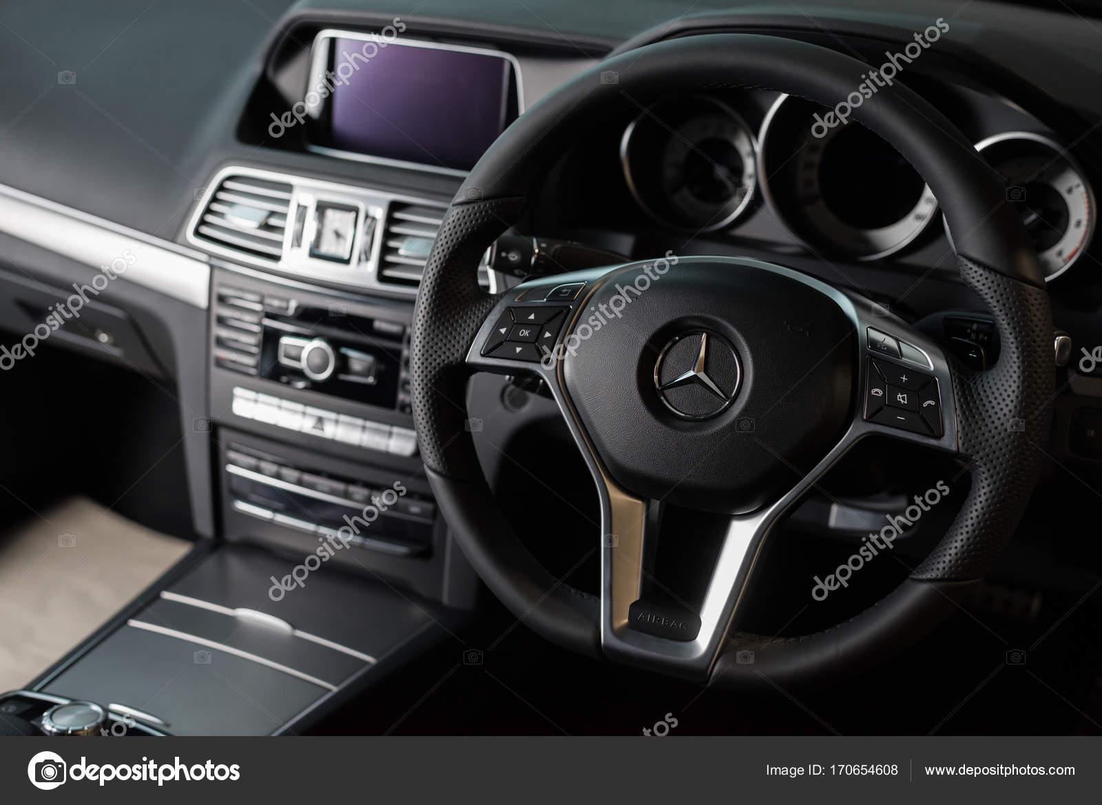 Bangkok Thailande 9 Novembre 2013 Modele Interieur De Mercedes