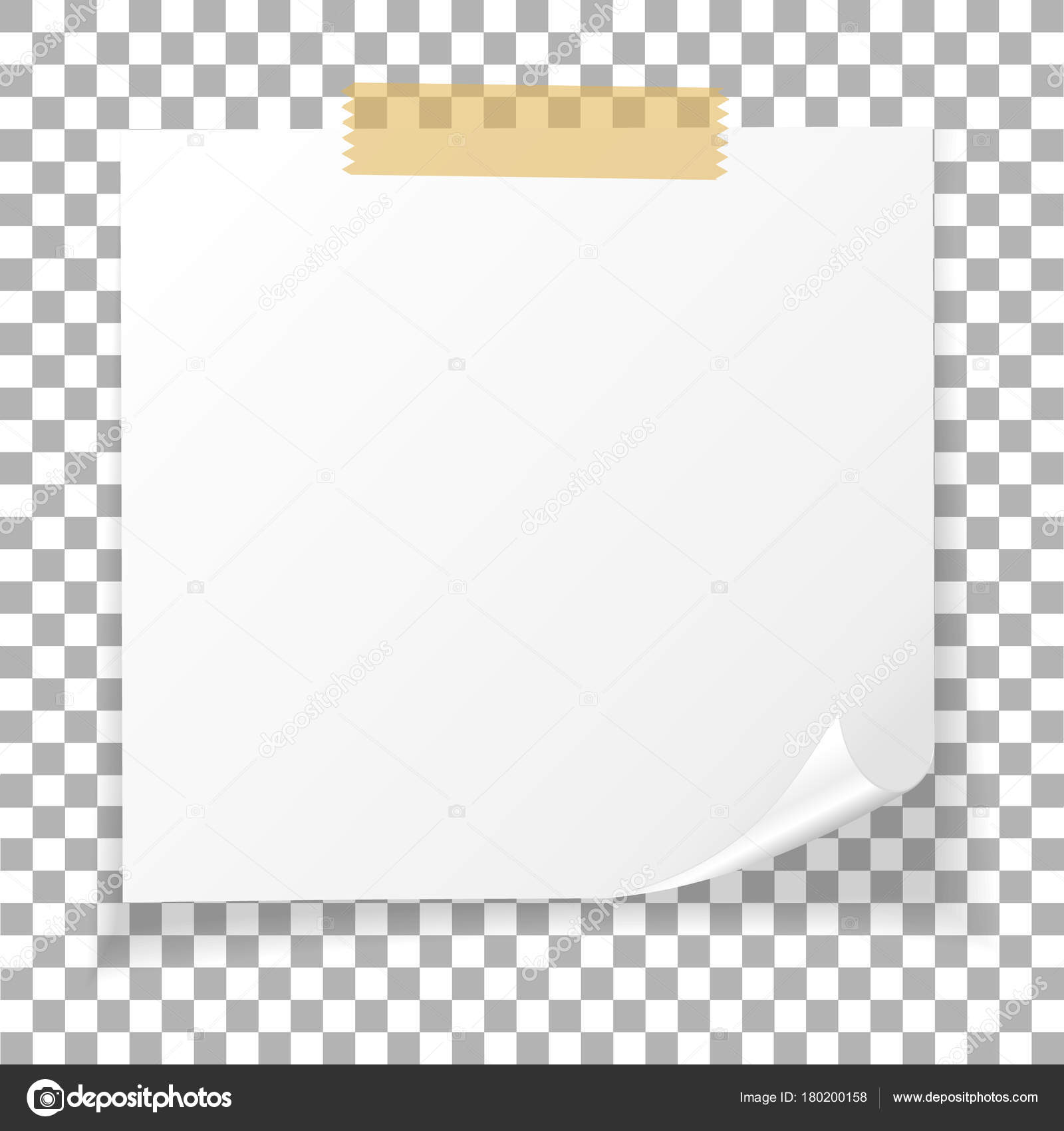 office white paper sticky note isolated on transparent free vector post it note paper post it note vector free