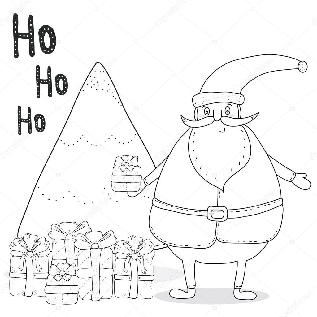 Gro Z Gig Santa Schlitten Malvorlagen Bilder Malvorlagen Von