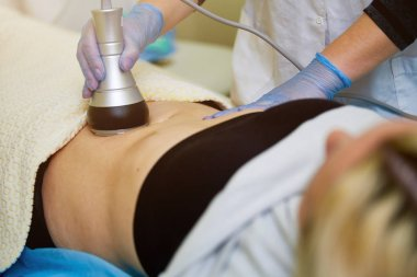 Beauty Spa, Human Hand, Liposuction Medical Laser Dieting
