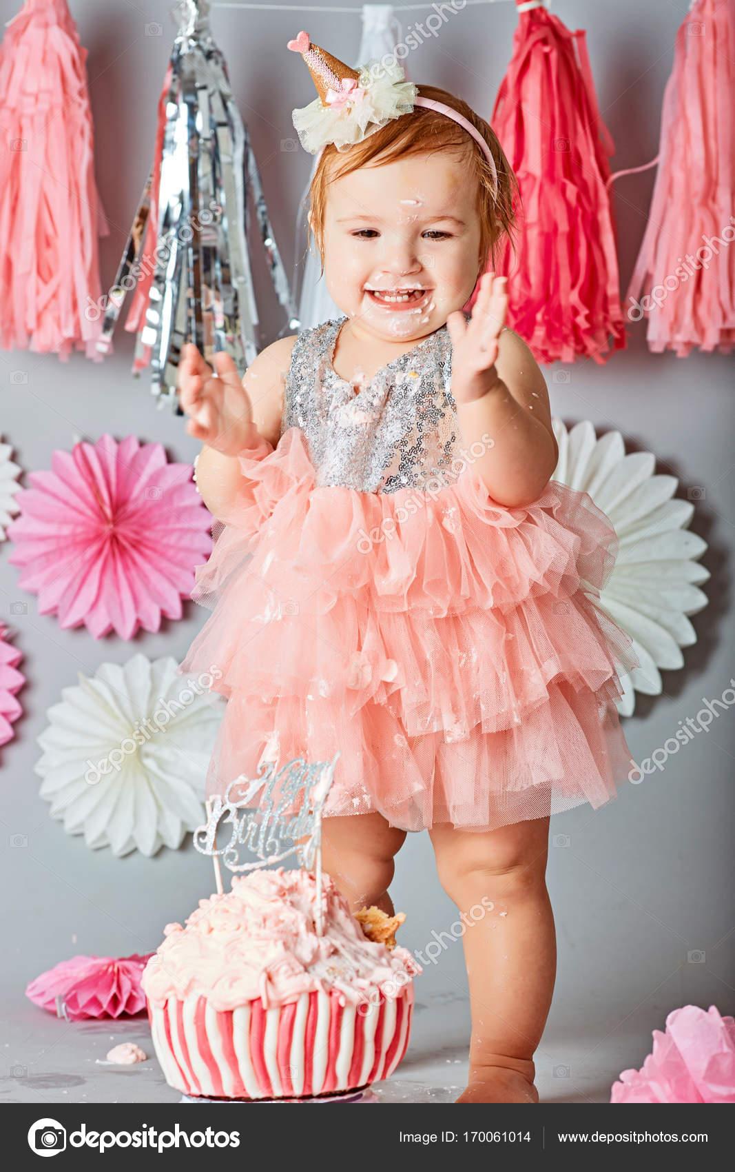 Amazing Pmages Girl First Birthday Baby Girl First Birthday Cake Smash Personalised Birthday Cards Xaembasilily Jamesorg